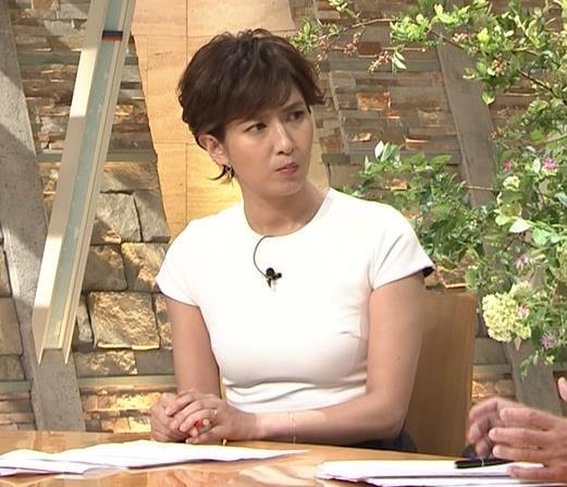 徳永有美アナ またピチピチでおっぱいが際立つキャプ・エロ画像6