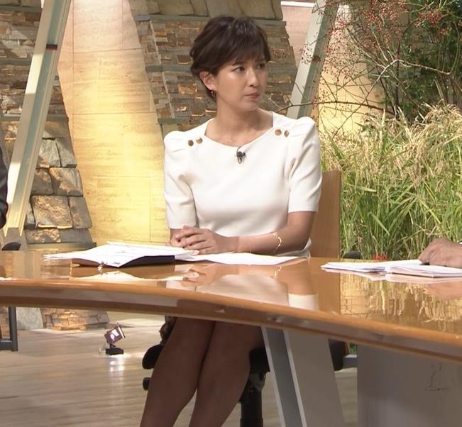徳永有美アナ 机の下の脚とかキャプ・エロ画像2