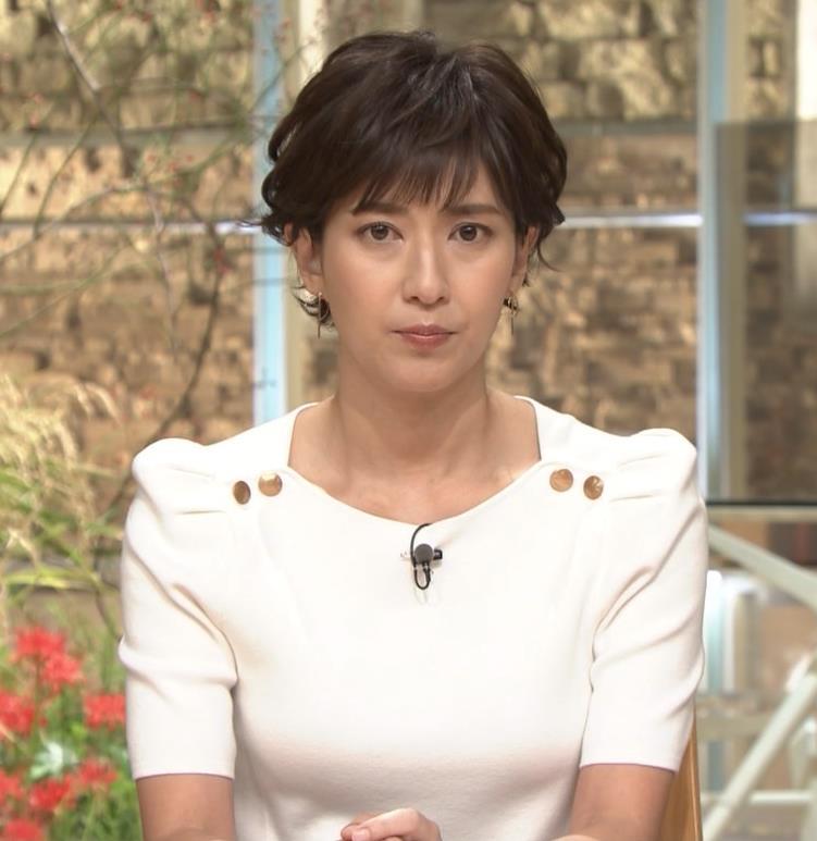徳永有美アナ 机の下の脚とかキャプ・エロ画像3