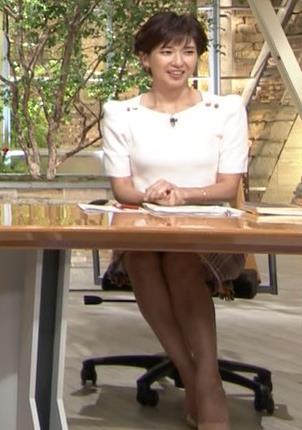 徳永有美アナ 机の下の脚とかキャプ・エロ画像7