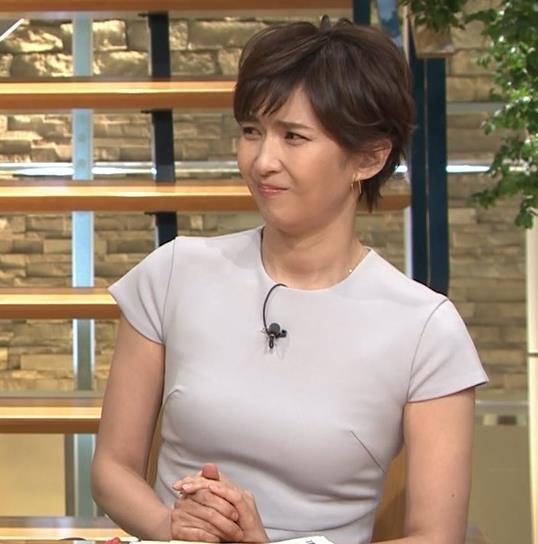 徳永有美アナ ピチピチな衣装でおっぱいが・・・キャプ・エロ画像11