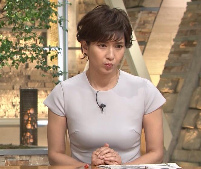 徳永有美アナ ピチピチな衣装でおっぱいが・・・キャプ・エロ画像3