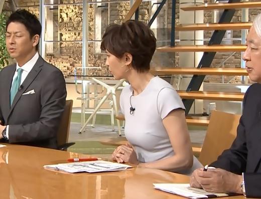 徳永有美アナ ピチピチな衣装でおっぱいが・・・キャプ・エロ画像6