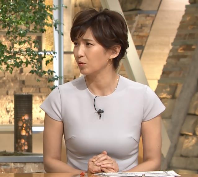 徳永有美アナ ピチピチな衣装でおっぱいが・・・キャプ・エロ画像7
