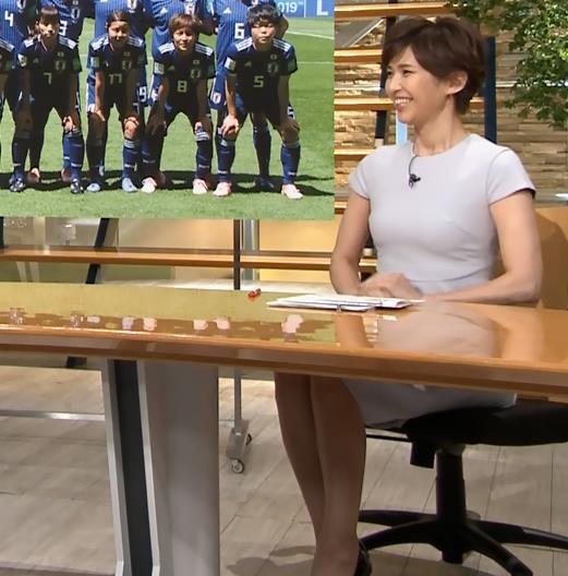 徳永有美アナ ピチピチな衣装でおっぱいが・・・キャプ・エロ画像9