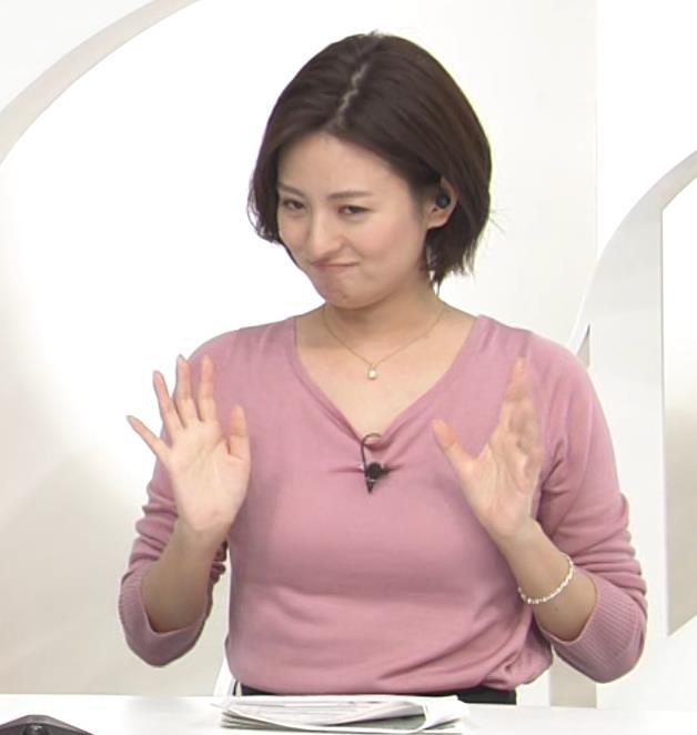 徳島えりかアナ ニット乳キャプ・エロ画像2