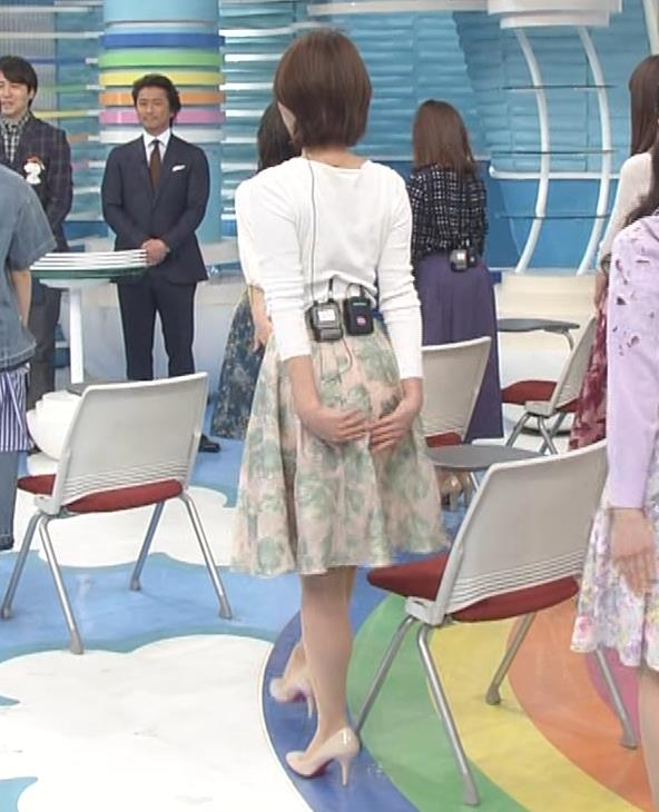 徳島えりかアナ ニットおっぱい&お尻キャプ・エロ画像4