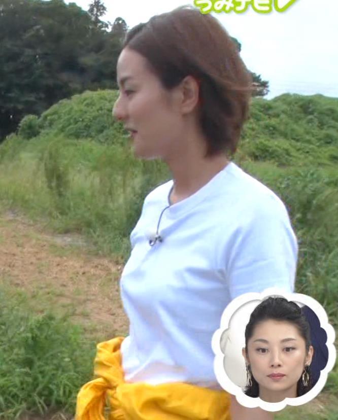 徳島えりかアナ タイトな服のおっぱいキャプ・エロ画像3