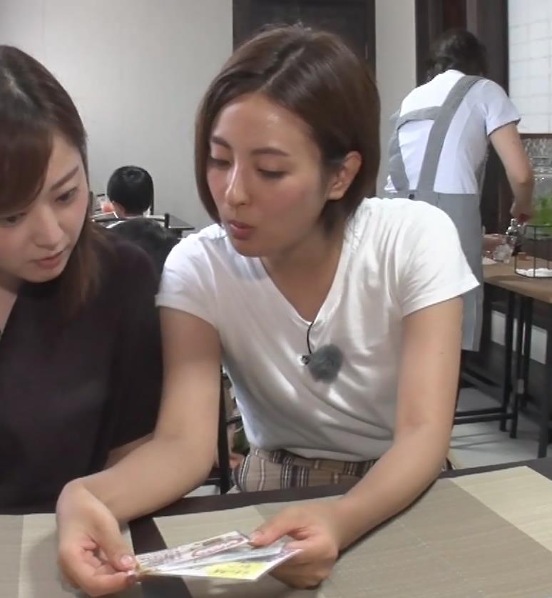 徳島えりかアナ 白いTシャツでエロいおっぱいキャプ・エロ画像12