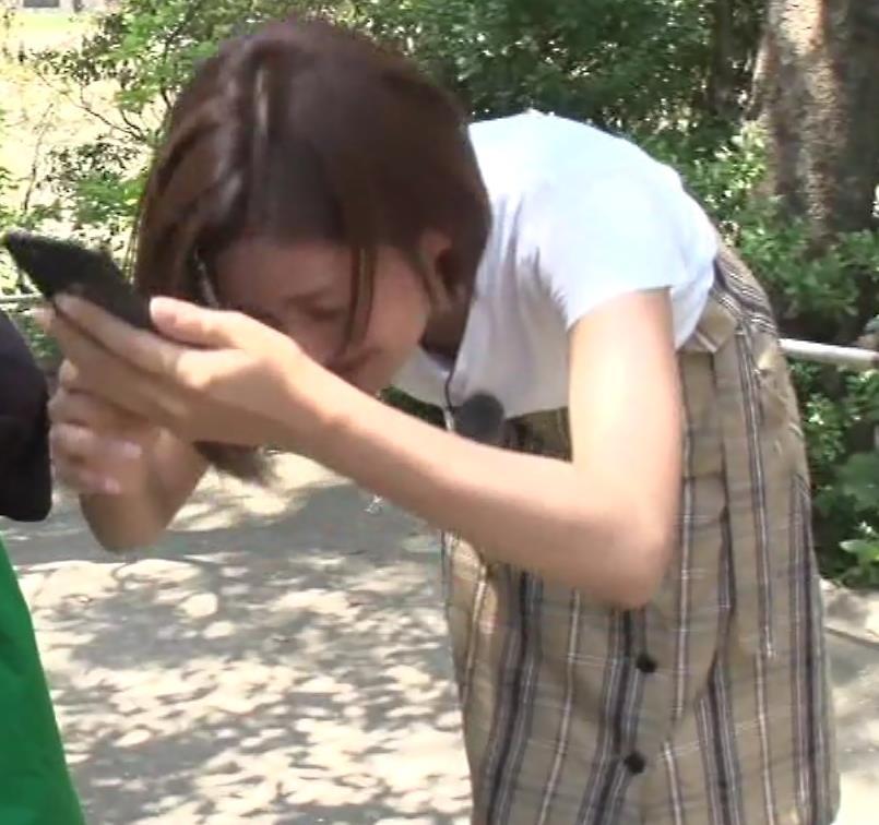 徳島えりかアナ 白いTシャツでエロいおっぱいキャプ・エロ画像7
