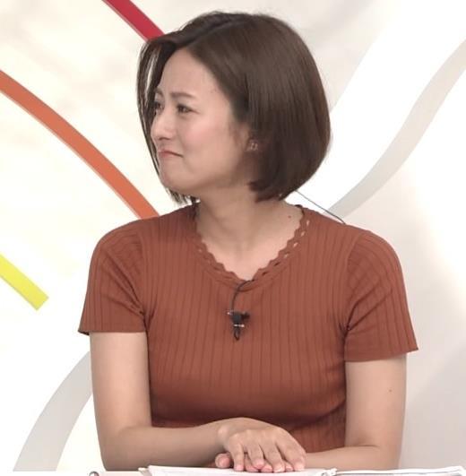 徳島えりかアナ ニット乳キャプ・エロ画像