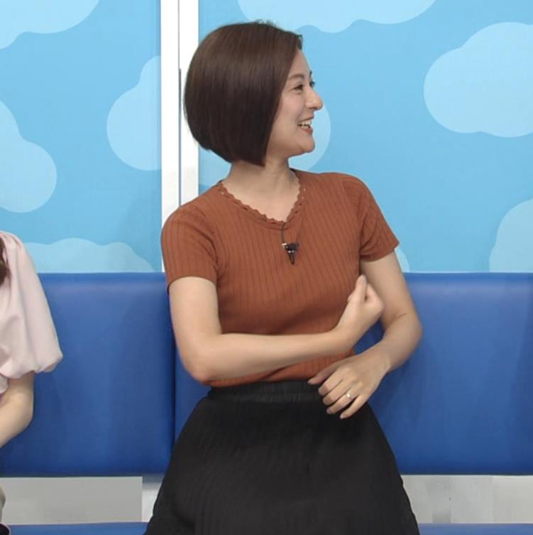 徳島えりかアナ ニット乳キャプ・エロ画像3