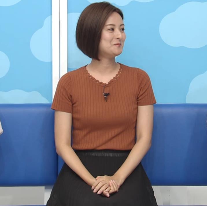 徳島えりかアナ ニット乳キャプ・エロ画像4