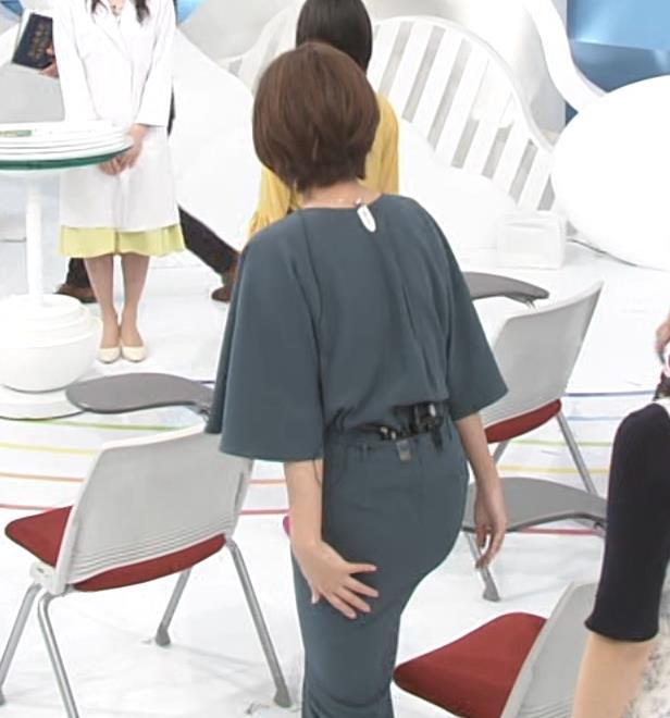 徳島えりかアナ 新婚さんのスリットから見えた脚キャプ・エロ画像