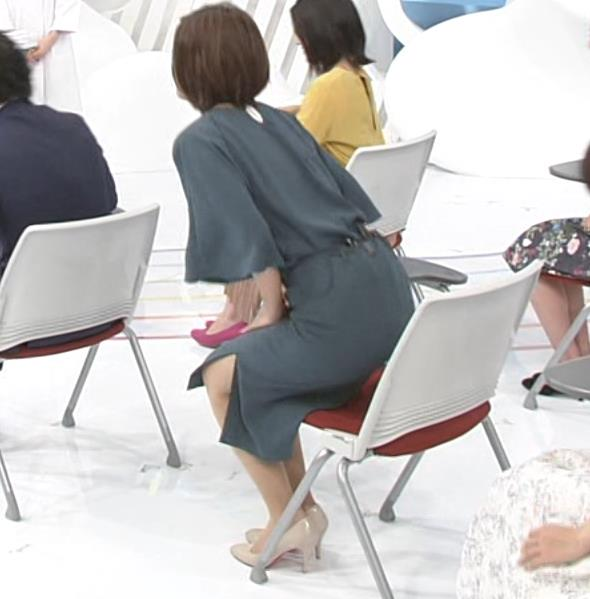 徳島えりかアナ 新婚さんのスリットから見えた脚キャプ・エロ画像4