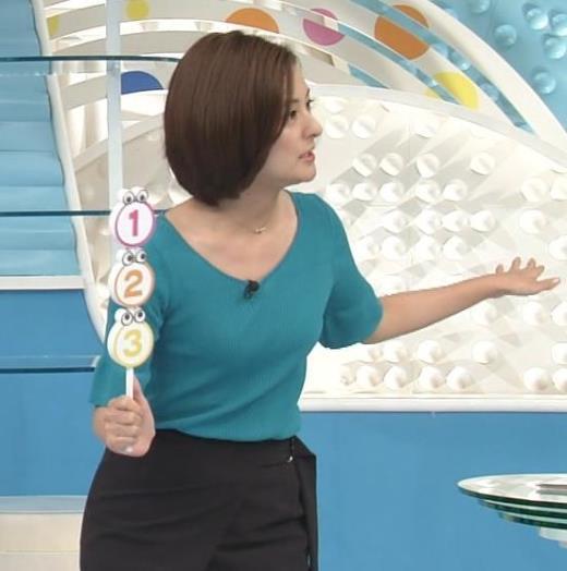 徳島えりか ピチピチのニットでおっぱいくっきりキャプ画像(エロ・アイコラ画像)