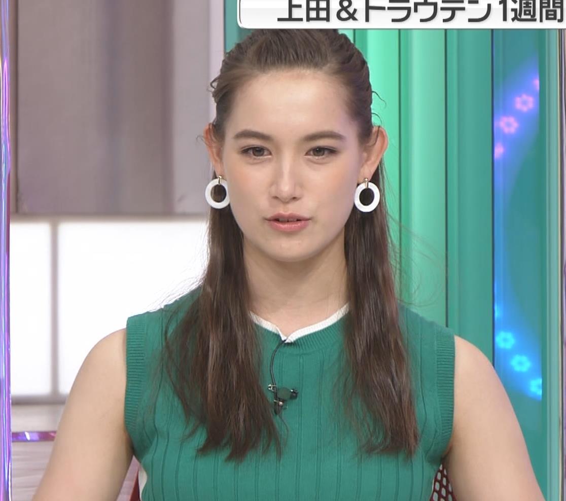 トラウデン直美 でかいニットおっぱい♡キャプ・エロ画像3