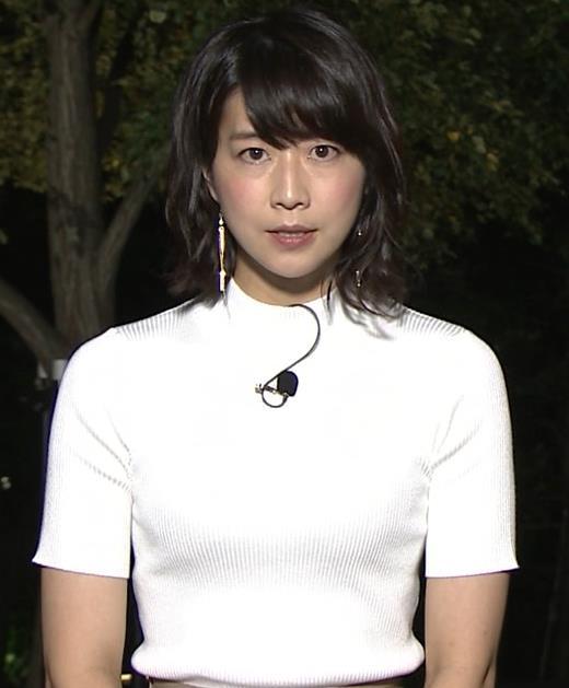 虎谷温子アナ 関西の美人アナ、ニット乳がエロ過ぎキャプ・エロ画像3