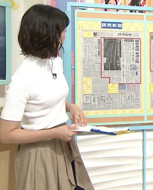 虎谷温子アナ 関西の美人アナ、ニット乳がエロ過ぎキャプ・エロ画像4