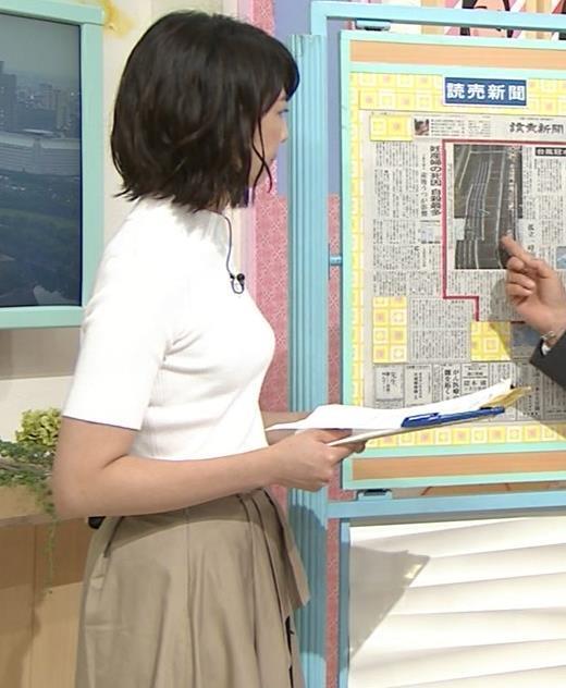 虎谷温子 関西の美人アナ、ニット乳がエロ過ぎキャプ画像(エロ・アイコラ画像)