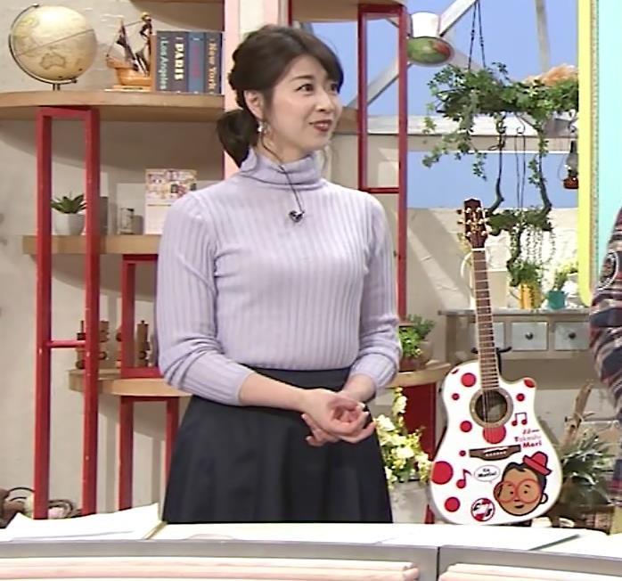 虎谷温子アナ にっとおっぱいキャプ・エロ画像3