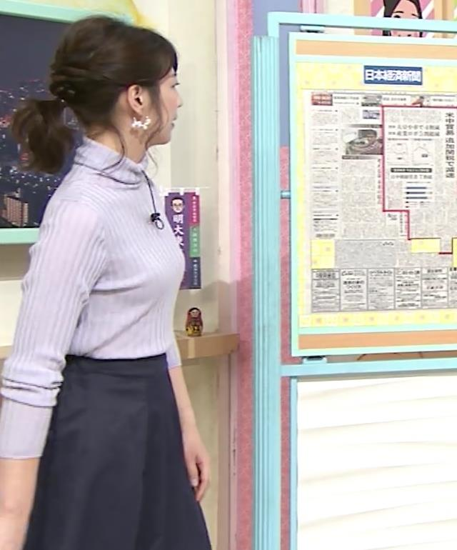 虎谷温子アナ にっとおっぱいキャプ・エロ画像6