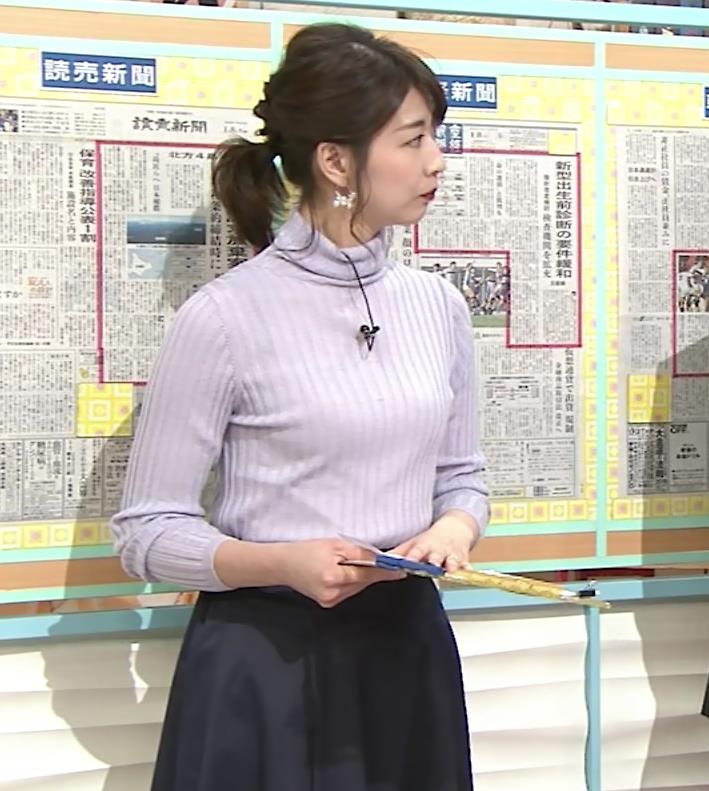 虎谷温子アナ にっとおっぱいキャプ・エロ画像7