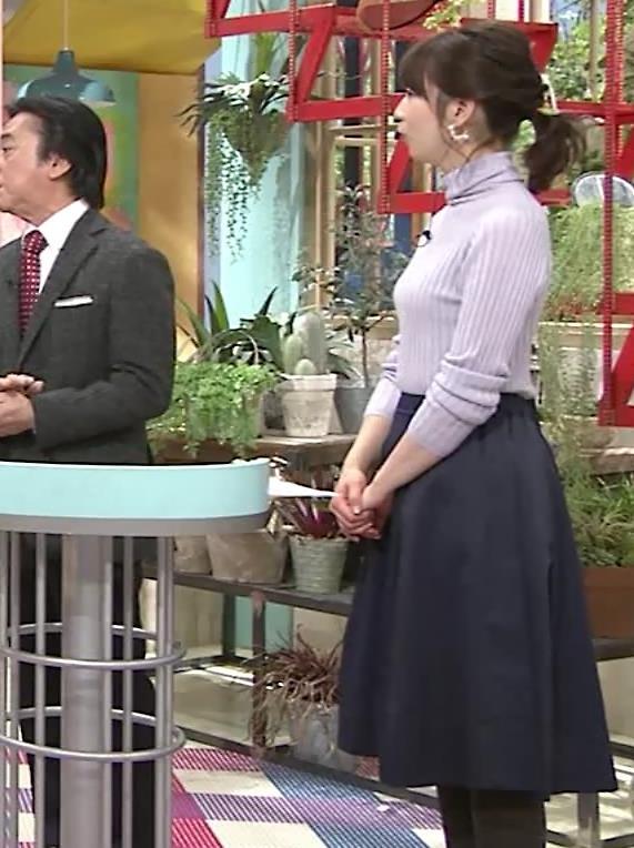 虎谷温子アナ にっとおっぱいキャプ・エロ画像8