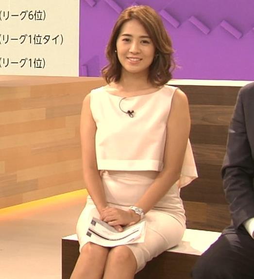 椿原慶子アナ ニュースを読むにはセクシーすぎる衣装キャプ・エロ画像11