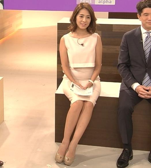 椿原慶子アナ ニュースを読むにはセクシーすぎる衣装キャプ・エロ画像7