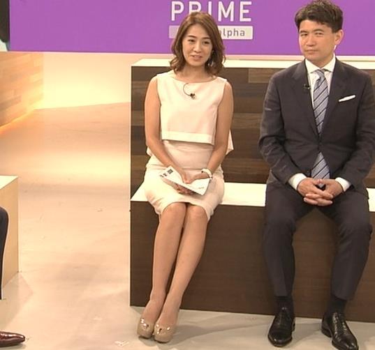 椿原慶子アナ ニュースを読むにはセクシーすぎる衣装キャプ・エロ画像9