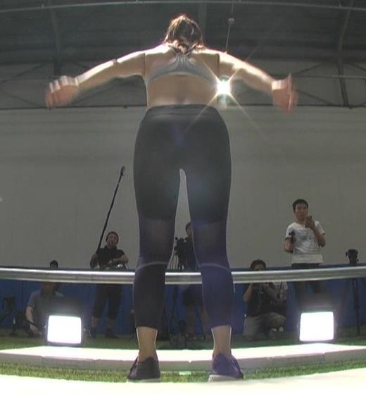 津吹アイリ 美人アスリートのエロいスポブラ「超人女子」キャプ・エロ画像5