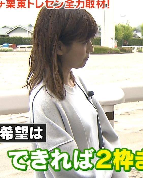 堤礼美アナ ツンと尖ってそうなおっぱいキャプ・エロ画像2