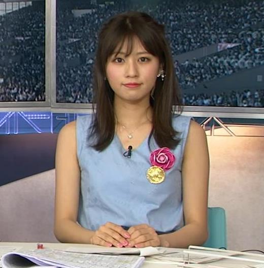 堤礼美アナ エロかわいいノースリーブワンピキャプ・エロ画像