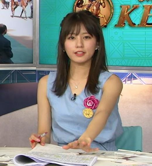 堤礼美アナ エロかわいいノースリーブワンピキャプ・エロ画像2