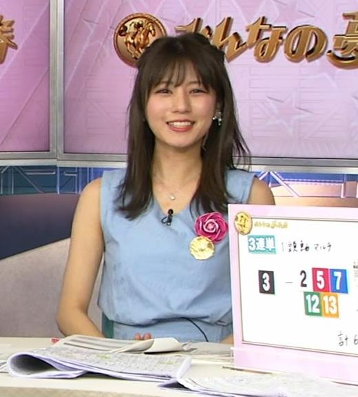 堤礼美アナ エロかわいいノースリーブワンピキャプ・エロ画像3