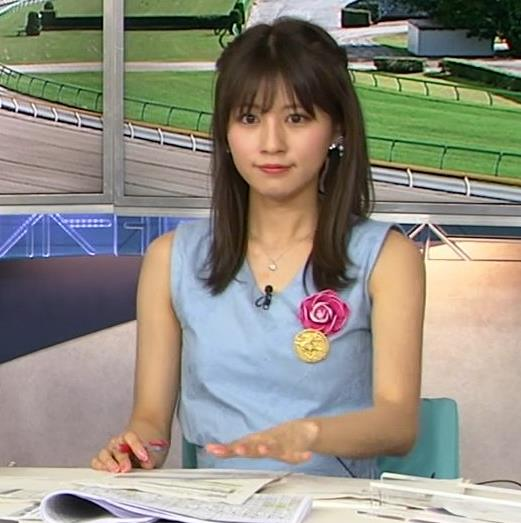 堤礼美アナ エロかわいいノースリーブワンピキャプ・エロ画像4