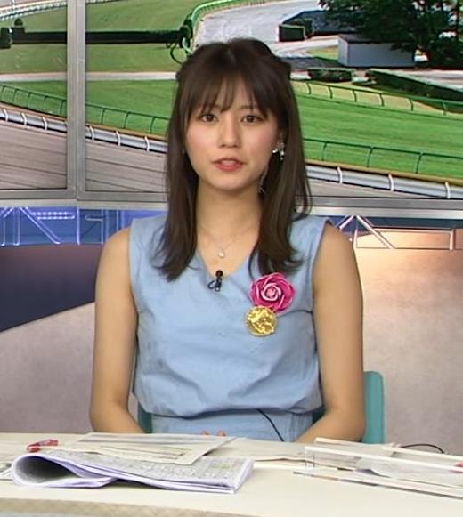 堤礼美アナ エロかわいいノースリーブワンピキャプ・エロ画像5