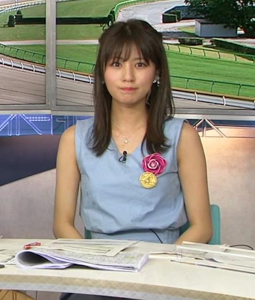 堤礼美アナ エロかわいいノースリーブワンピキャプ・エロ画像6