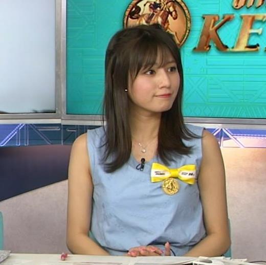 堤礼美アナ エロかわいいノースリーブワンピキャプ・エロ画像8