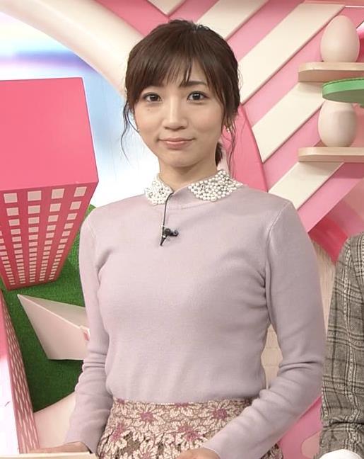 内田敦子アナ ニット乳♡キャプ・エロ画像2