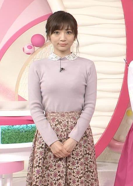 内田敦子アナ ニット乳♡キャプ・エロ画像3