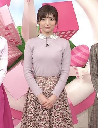 内田敦子アナ ニット乳♡キャプ・エロ画像6