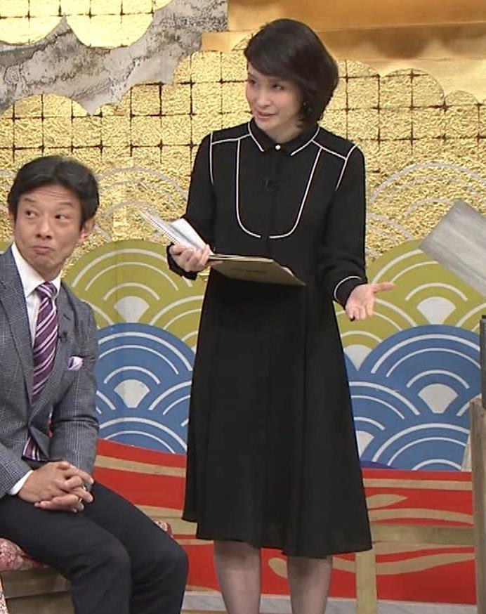 内田恭子 横乳。さすがに年齢が気になる。キャプ・エロ画像