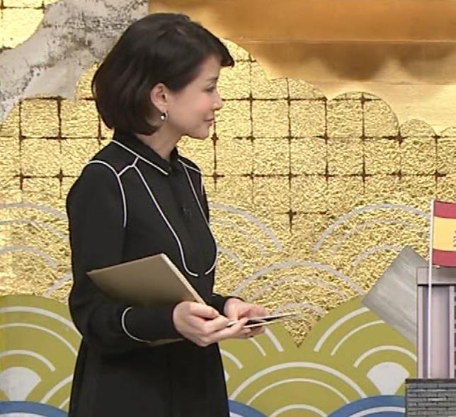 内田恭子 横乳。さすがに年齢が気になる。キャプ・エロ画像6