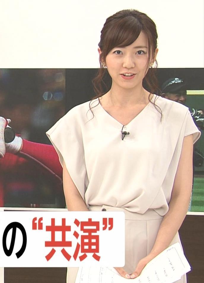 内田嶺衣奈アナ FNNプライムニュース イブニングキャプ・エロ画像4