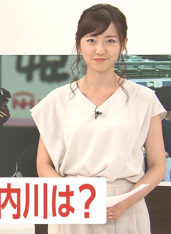 内田嶺衣奈アナ FNNプライムニュース イブニングキャプ・エロ画像5