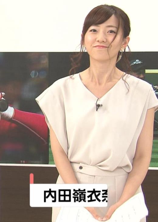 内田嶺衣奈 FNNプライムニュース イブニングキャプ画像(エロ・アイコラ画像)