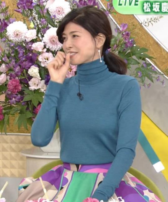 内田有紀 エロいニットおっぱいキャプ・エロ画像