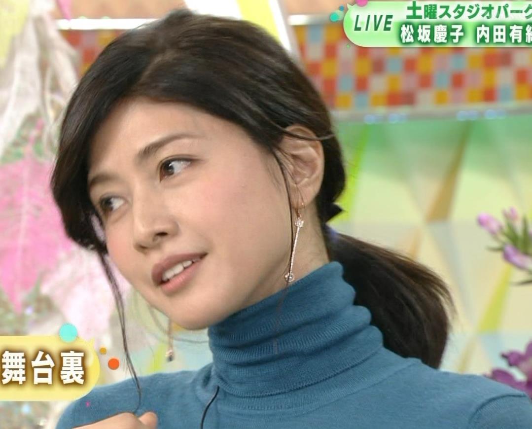内田有紀 エロいニットおっぱいキャプ・エロ画像12